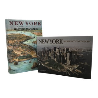 New York City Books - a Pair For Sale