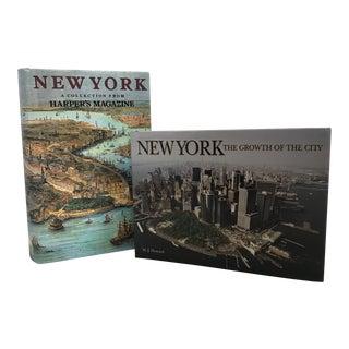 New York City Nostalgia Books - a Pair For Sale