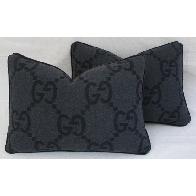 Gucci Cashmere & Mohair Pillows - Pair - Image 2 of 10