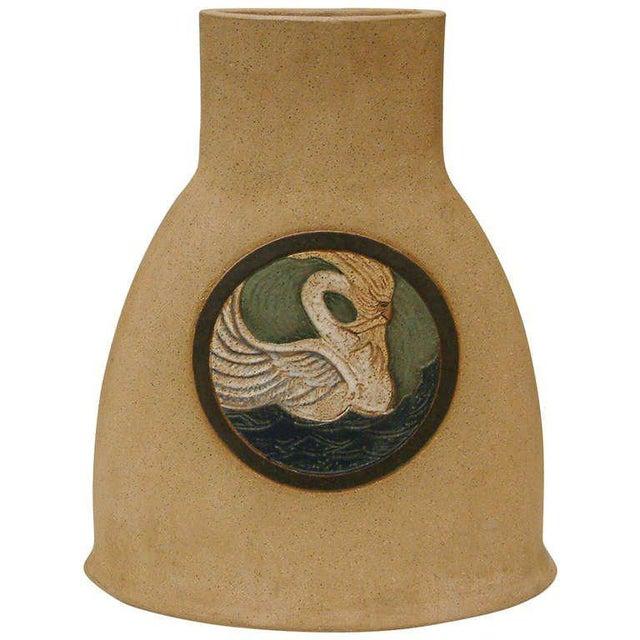 1978 Nittenegger Stoneware Vase For Sale - Image 10 of 10