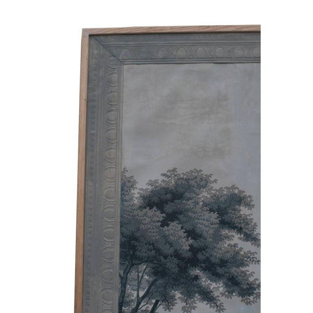 Early 19th Century Grisaille Panel Depicting Neapolitans Watching Horse Racing For Sale - Image 5 of 10