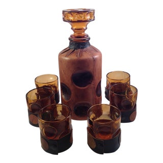 Mid-Century Italian Decanter Set