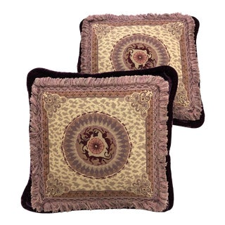 Late 20th Century Vintage Richard Fischer Pillows - a Pair For Sale