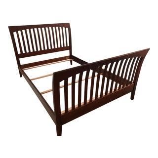 Ethan Allen Teagan Sleigh Bed