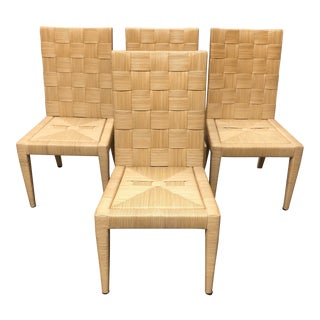 Donghia John Hutton Block Island Dining Chairs- Set of Four For Sale