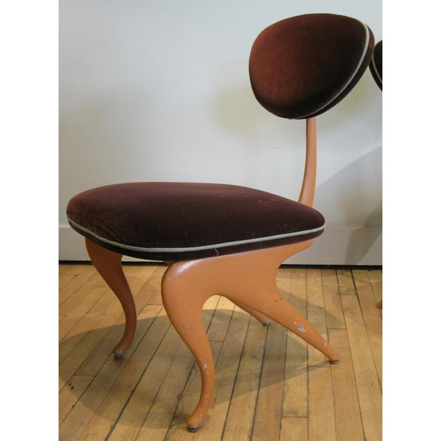 Mid-Century Modern Pair of Lounge Chairs by Jordan Mozer For Sale - Image 3 of 8