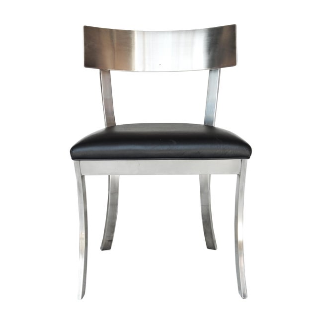"""Mid-Century Modern """"Klismos Style"""" Dining Chairs For Sale - Image 3 of 9"""