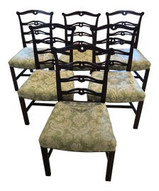 Image of Chippendale Dining Chairs