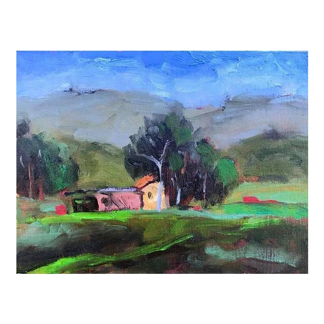 Pena Adobe Park Vacaville Oil Painting For Sale