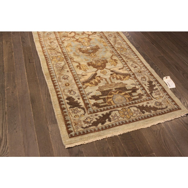 """Persian Sultanabad Rug - 3'2"""" x 13'9"""" - Image 7 of 10"""