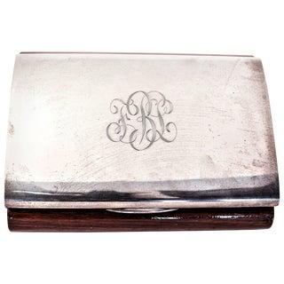 Italian Men's Cigar Box For Sale