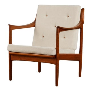 Gerhard Berg Lounge Chair for Westnofa For Sale
