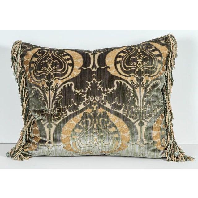 Traditional Luigi Bevilacqua Silk Velvet Pillows - a Pair For Sale In Los Angeles - Image 6 of 7