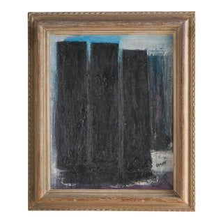 Oil on Canvas by Israeli Artist, Avshalom Okasahi (1916-1980) For Sale