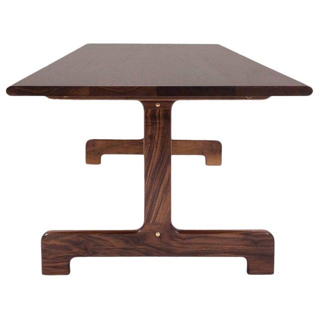 Bespoke Asa Pingree Physalia Walnut Dining Table For Sale