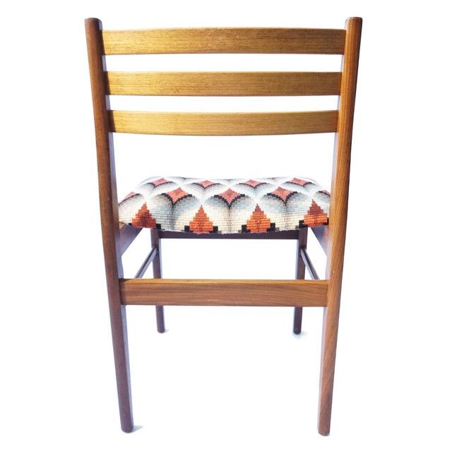 Danish Modern Teak & Beech Chairs - Set of 6 - Image 5 of 7
