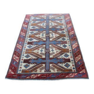 "Turkish Yagcibedir Rug - 3'5"" X 5'6"" For Sale"