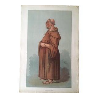 1899 Antique Caricature of William Vernon Harcourt From Vanity Fair