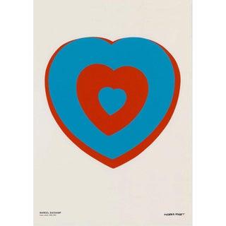 Marcel Duchamp Coeur Volant (Fluttering Heart), Museum Poster For Sale