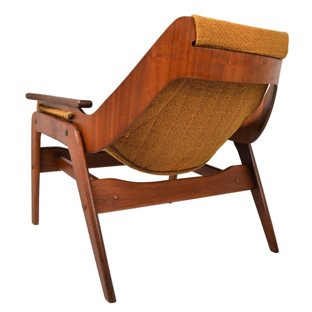 Mid Century Modern Sling Chair By Jerry Johnson - Image 2 of 7
