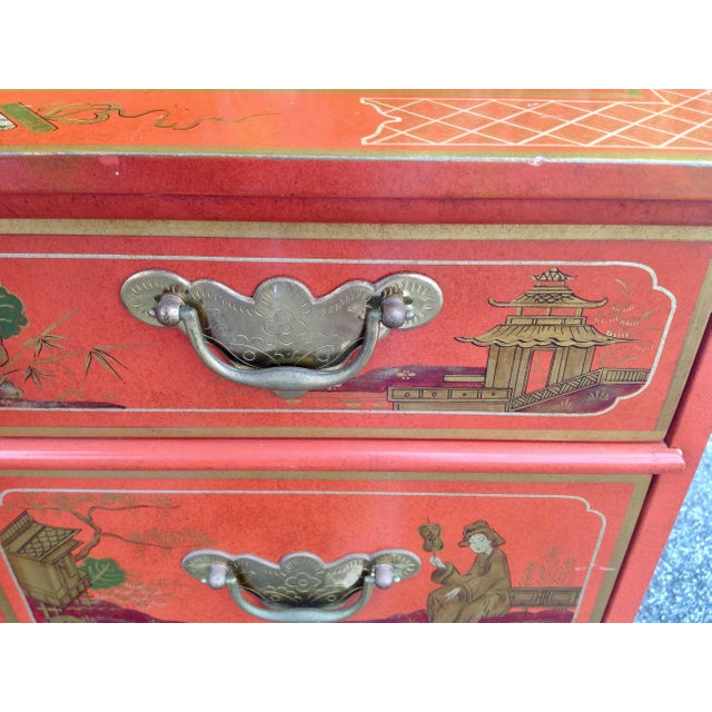 Chinoiserie Chest by Baker For Sale - Image 10 of 13