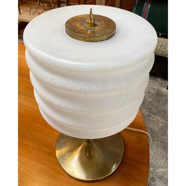 1970s Gaetano Sciolari Mid-Century Modern Italian Table Lamp For Sale In Los Angeles - Image 6 of 10