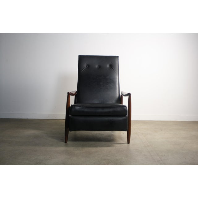 Milo Baughman Highback Recliner Chair For Sale In Orlando - Image 6 of 7