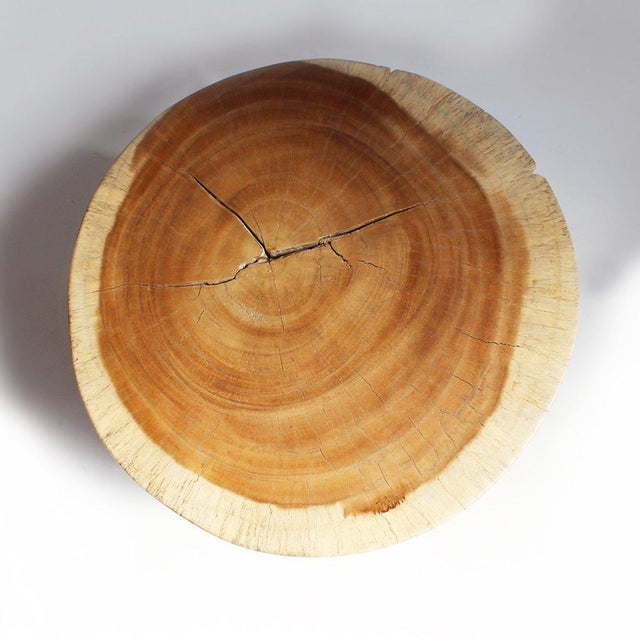 Round Stump Side Table - Image 2 of 2