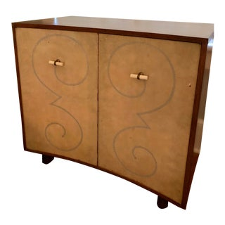 Mid 20th Century Mid-Century Curved Cabinet For Sale