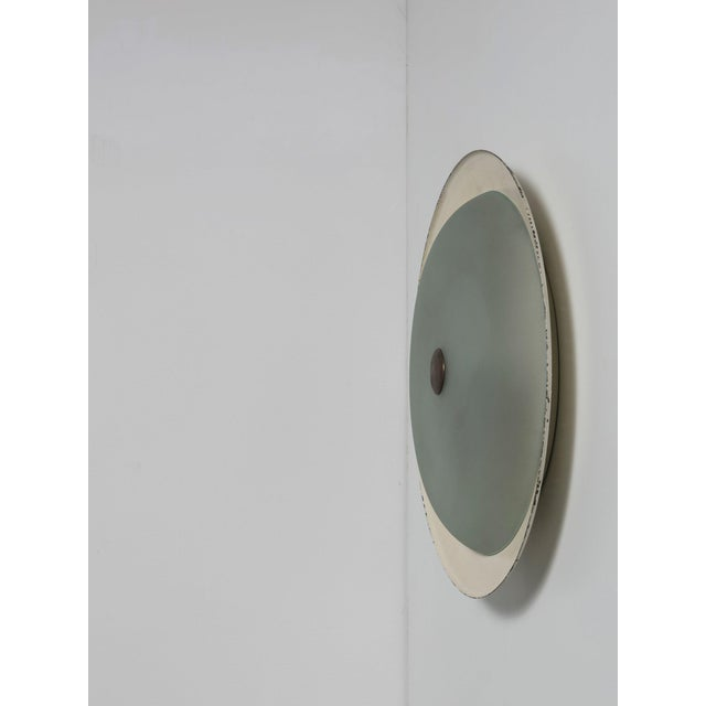 Rare Wall / Ceiling Lamp Attributed to Fontana Arte For Sale - Image 6 of 6