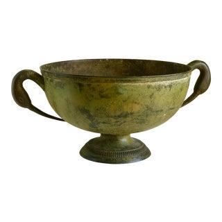 Vintage Rustic Metal Bowl