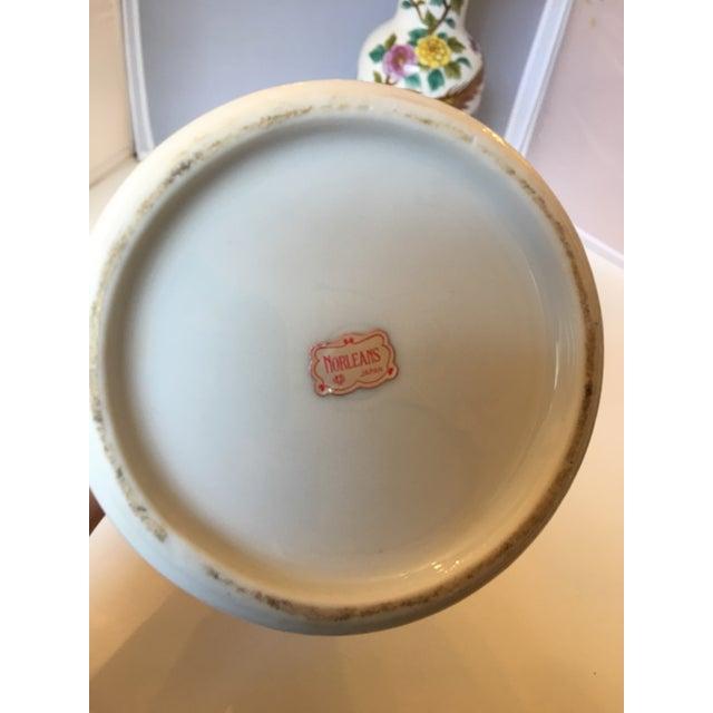 Porcelain Pheasant Vases - A Pair - Image 6 of 6