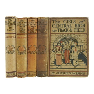 """""""The Girls of Central High"""" Book Series - Set of 4 For Sale"""