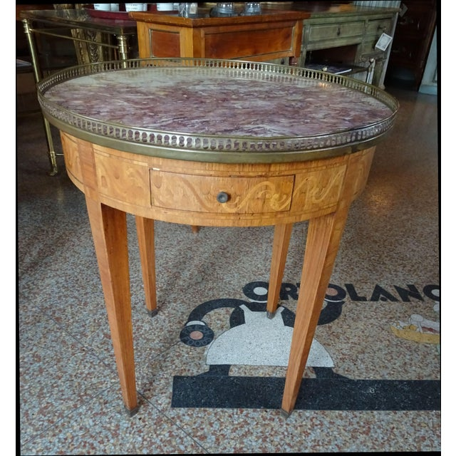 19th Century French Bouillotte Table For Sale - Image 13 of 13