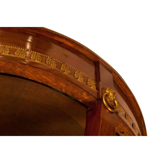 Bronze 19th Century Russian Mahogany Wine Cooler Jardiniere For Sale - Image 7 of 10
