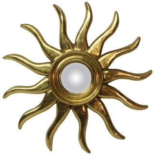 Gilt Sunburst Mirror For Sale