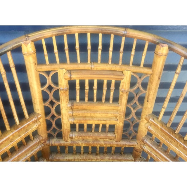 Vintage Brighton Style Rattan Chairs- Set of 4 - Image 7 of 9