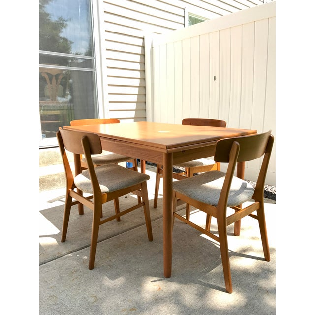 Fabulous Farstrup Teak Dining Table Chairs Squirreltailoven Fun Painted Chair Ideas Images Squirreltailovenorg