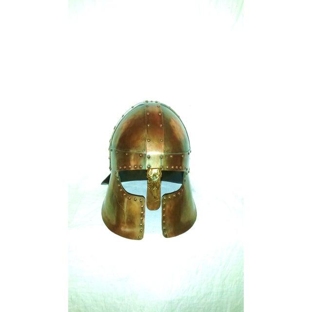 Medieval Brass & Copper Helmet - Image 2 of 7