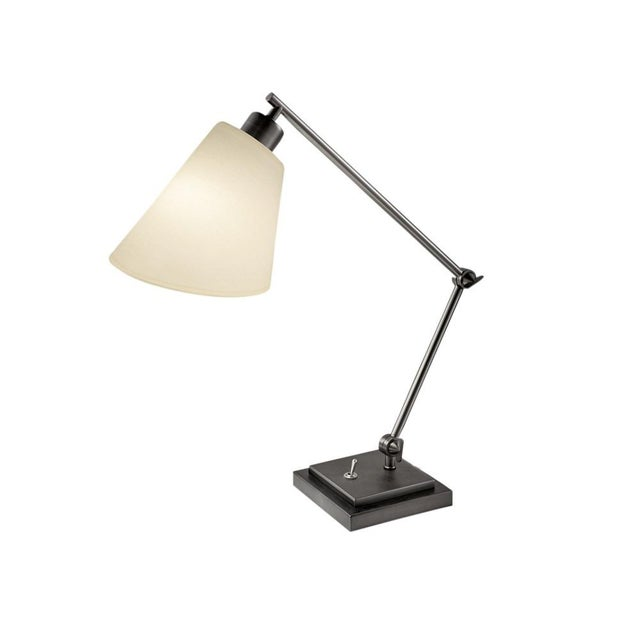 Not Yet Made - Made To Order Desk Lamp in Black Bronze For Sale - Image 5 of 5