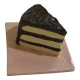 Image of Ceramic Cake Slice Wall Tile For Sale