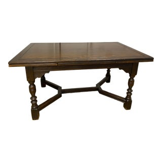 Antique Jacobean or Spanish Colonial Dining Table or Desk For Sale