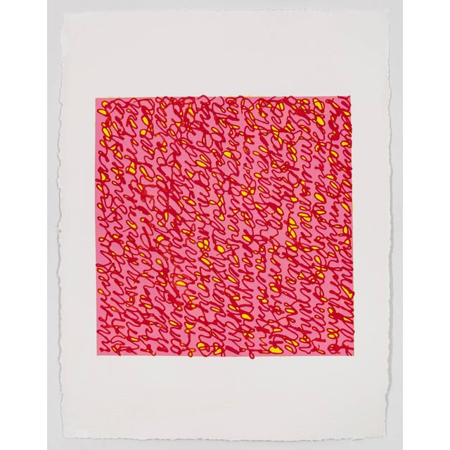 Louise P Sloane Louise P. Sloane Red Pink For Sale - Image 4 of 4