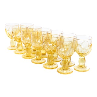 Franciscan Cabaret Cornsilk Goblets - Set of 12 For Sale