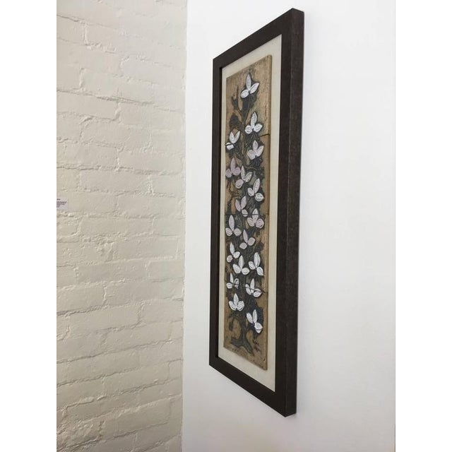 Mid-Century Modern Ceramic Tile Wall Art by Victoria Littlejohn For Sale - Image 3 of 8