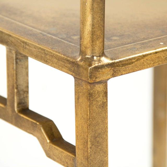 Goerge Side Chair in Gold For Sale - Image 4 of 5