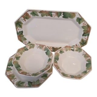 Vintage 1980s Classic Collection Nikko Dishes - 4 Pieces For Sale