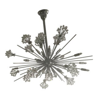 Constellati 30 Light Oval Pendant Chandelier by Allegri For Sale