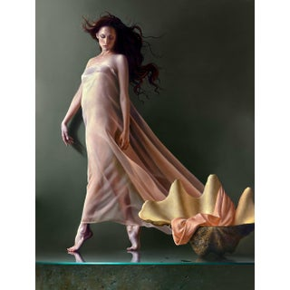 """""""La Perla"""" Contemporary Figurative Giclee by Dario Campanile For Sale"""