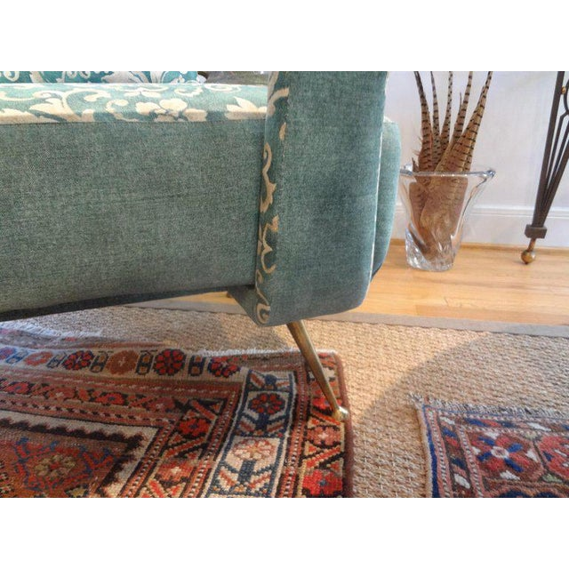 1960s 1960s Vintage Italian Gio Ponti Inspired Lounge Chairs- A Pair For Sale - Image 5 of 11